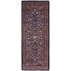3' 10 x 10' 4 Mahal Persian Runner Rug