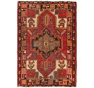 Link to 3' 5 x 5' Hamedan Persian Rug