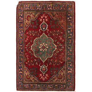 Link to 3' 3 x 5' Tabriz Persian Rug item page