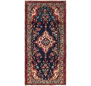 Link to 3' 5 x 7' 2 Hamedan Persian Runner Rug