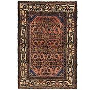 Link to 3' 3 x 5' Hamedan Persian Rug