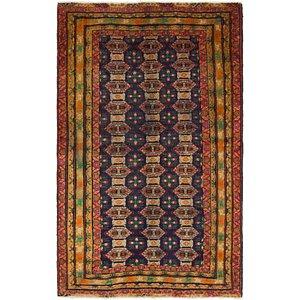 3' 3 x 5' 3 Torkaman Persian Rug