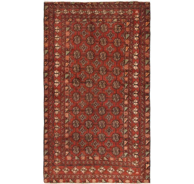 4' x 6' 10 Torkaman Persian Rug