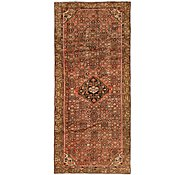 Link to 3' 10 x 9' 4 Hossainabad Persian Runner Rug
