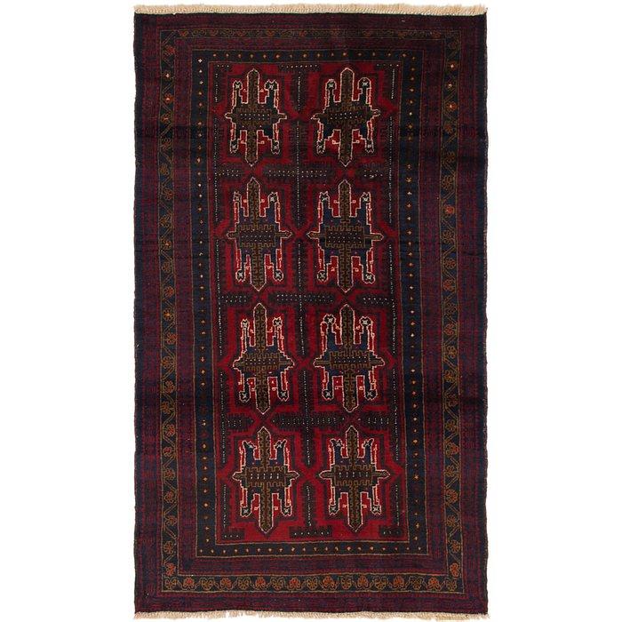 3' 6 x 6' 4 Balouch Persian Rug