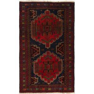 Unique Loom 3' 7 x 6' 5 Balouch Persian Rug