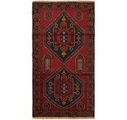 Link to 3' 6 x 7' Balouch Persian Rug