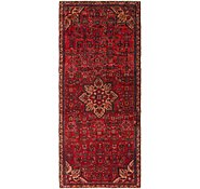 Link to 137cm x 305cm Hossainabad Persian Runner Rug