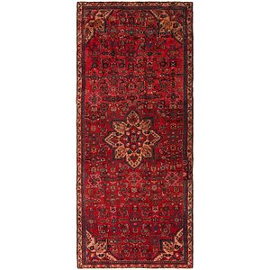 Link to 4' 6 x 10' Hossainabad Persian Run... item page