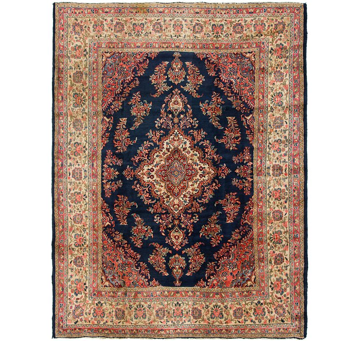 HandKnotted 8' 9 x 11' 10 Mahal Persian Rug