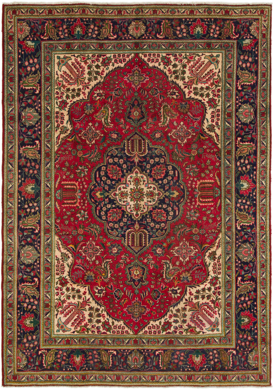 Red HandKnotted 8\u0027 2 x 11\u0027 6 Tabriz Persian Rug | Persian Rugs | Rugs.com & Red HandKnotted 8\u0027 2 x 11\u0027 6 Tabriz Persian Rug | Persian Rugs ...