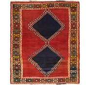 Link to 3' 9 x 4' 5 Shiraz Persian Rug