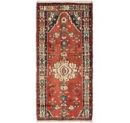 Link to 3' 3 x 7' Hamedan Persian Runner Rug