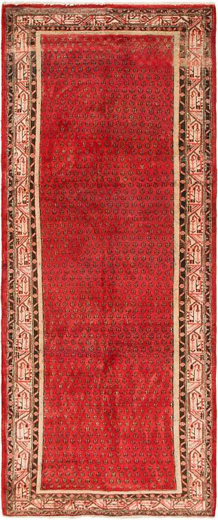 Red 4 X 10 Botemir Persian Runner Rug Persian Rugs