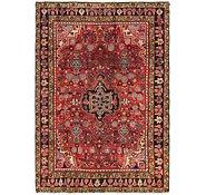 Link to 4' 6 x 6' 5 Hamedan Persian Rug