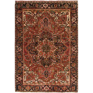 Link to 7' 2 x 10' 2 Heriz Persian Rug item page