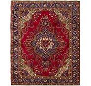 Link to 9' 10 x 12' 4 Tabriz Persian Rug