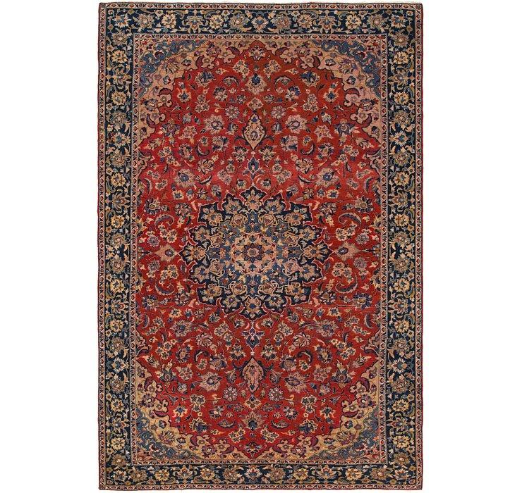 7' 8 x 11' 10 Isfahan Persian Rug