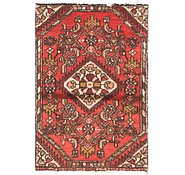 Link to 1' 8 x 2' 6 Hossainabad Persian Rug