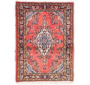 Link to 2' x 2' 3 Hamedan Persian Rug