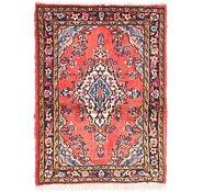 Link to 60cm x 70cm Hamedan Persian Rug