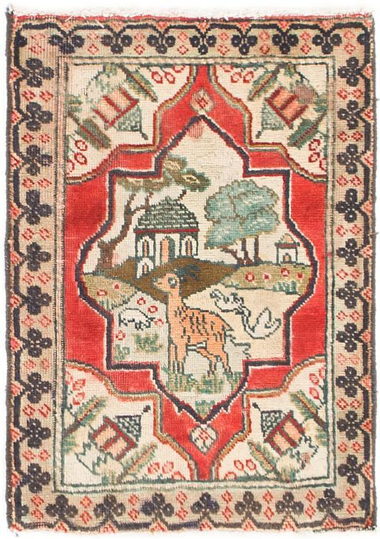 Red 1 10 X 2 7 Tabriz Persian Rug Area Rugs Esalerugs