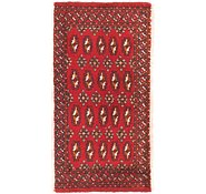 Link to 1' 7 x 3' 2 Torkaman Persian Rug