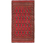 Link to 1' 9 x 3' 3 Torkaman Persian Rug