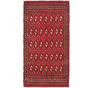 Link to 1' 9 x 3' 3 Torkaman Persian Rug