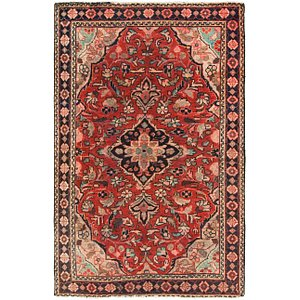 Link to 4' x 6' 6 Hamedan Persian Rug item page