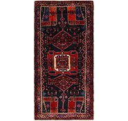 Link to 4' 7 x 9' 5 Zanjan Persian Runner Rug