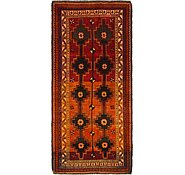 Link to 4' 5 x 9' 8 Shiraz-Lori Persian Runner Rug