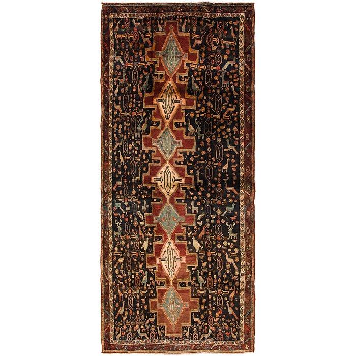 5' x 11' 2 Senneh Persian Runner Rug