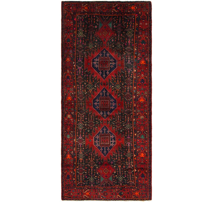 152cm x 345cm Gholtogh Persian Runner...