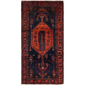 4' 10 x 10' Zanjan Persian Runner Rug