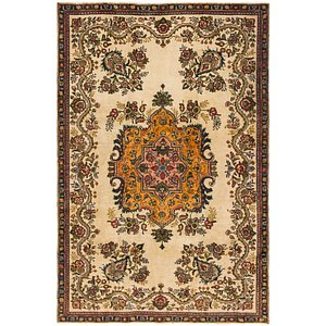Link to 160cm x 245cm Tabriz Persian Rug item page