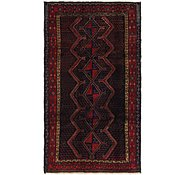 Link to 5' 2 x 9' Sanandaj Persian Rug