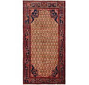 Link to 4' 6 x 9' 2 Koliaei Persian Runner Rug