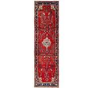 Link to 90cm x 318cm Hamedan Persian Runner Rug