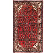 Link to 3' 5 x 7' Hossainabad Persian Runner Rug