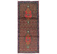 Link to 2' 6 x 5' 8 Mazlaghan Persian Rug