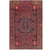 Link to 4' 8 x 7' Hamedan Persian Rug