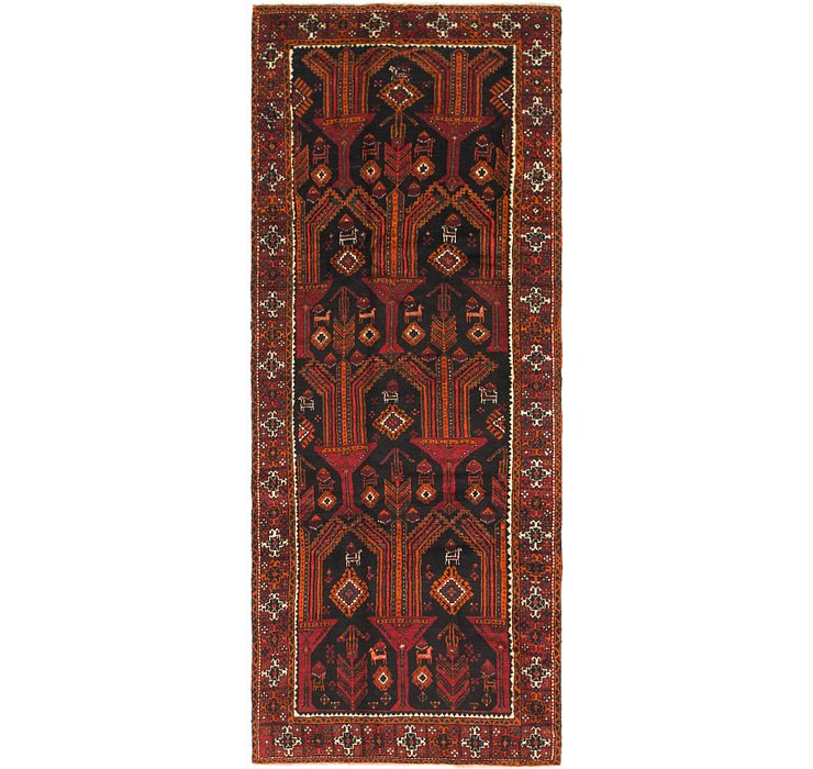3' 10 x 9' 6 Balouch Persian Runner ...