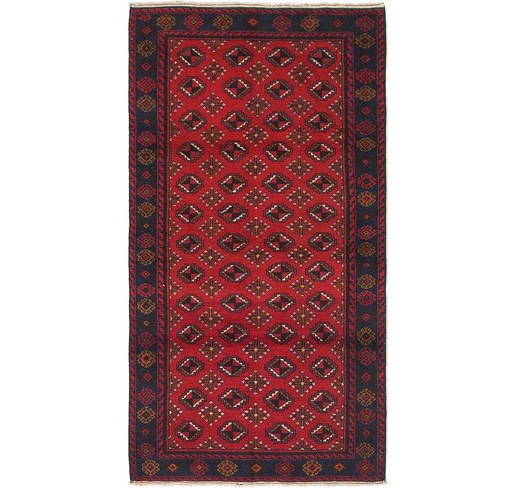 3' 5 x 6' 10 Balouch Persian Rug
