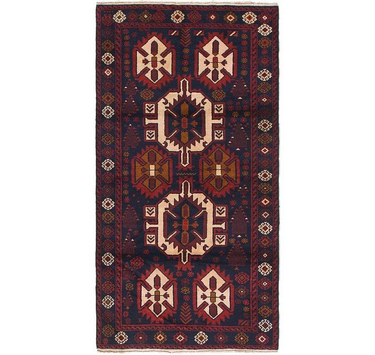 3' 6 x 6' 9 Balouch Persian Rug