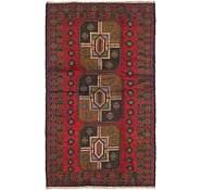 Link to 102cm x 188cm Balouch Persian Rug