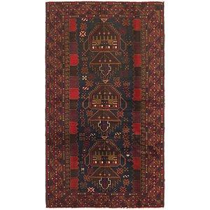 Unique Loom 3' 5 x 6' Balouch Persian Rug
