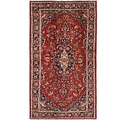 Link to 3' 6 x 6' 4 Kashan Persian Rug