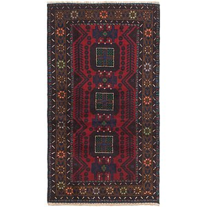 Link to 3' 5 x 6' 5 Balouch Persian Rug item page