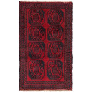 HandKnotted 3' 7 x 6' 5 Balouch Persian Rug